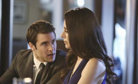 Daniel and Victoria on Revenge