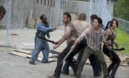 The Walking Dead Photos: What a Riot!