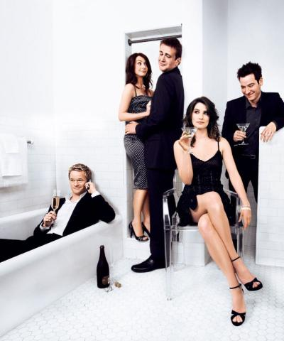 How I Met Your Mother Cast Image