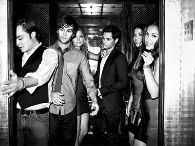 The Gossip Girl Cast