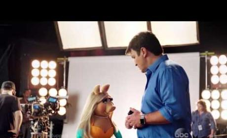 Miss Piggy Ogles Nathan Fillion