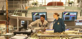 Fuentes and Brennan Work Hard - Bones Season 10 Episode 18