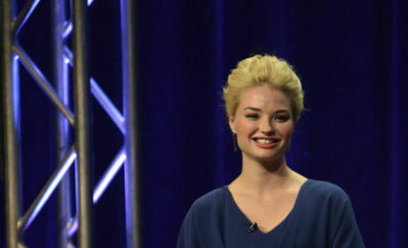 Emma Rigby at TCA Press Tour