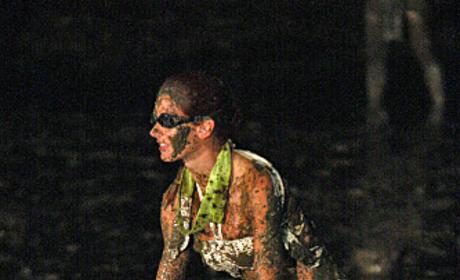 Jaime Covered In Mud