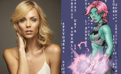 Supergirl: DC Comics Characters Indigo and Master Jailer Cast