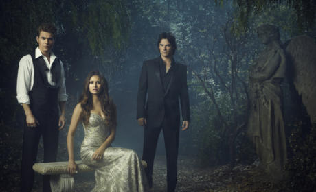 The Vampire Diaries Episode Description: Flashing WAY Back...
