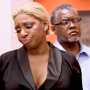 NeNe Looks Unhappy