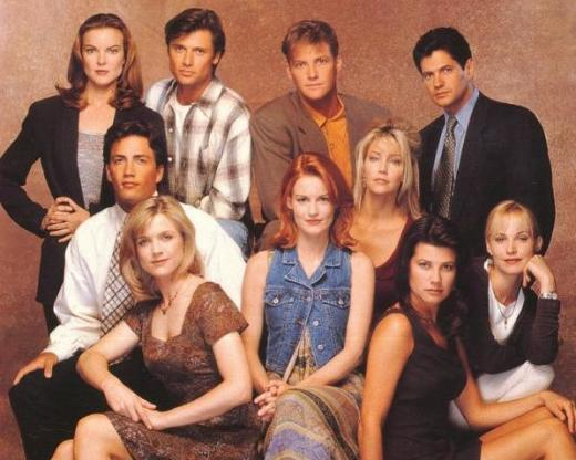 Melrose Place Shot