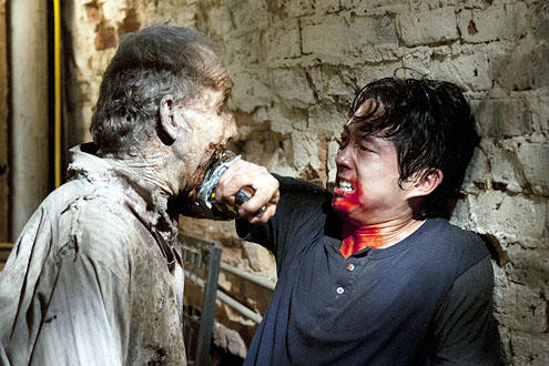 Steven Yeun on The Walking Dead