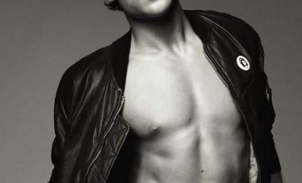 Dustin Milligan: Shirtless for V Magazine