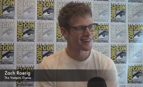 Zach Roerig Comic-Con Interview