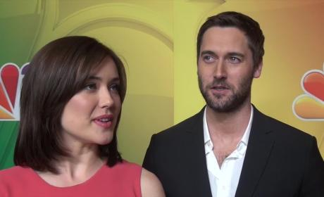 Megan Boone and Ryan Eggold Interview