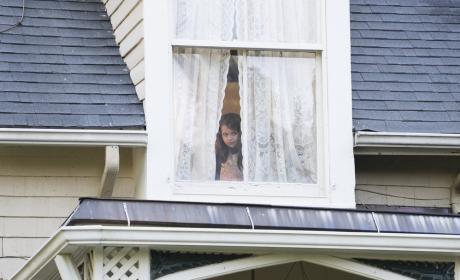 Young Liz takes a peek out the window - The Blacklist Season 4 Episode 2