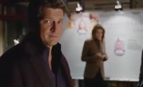 Castle Clip: Playing to the Camera