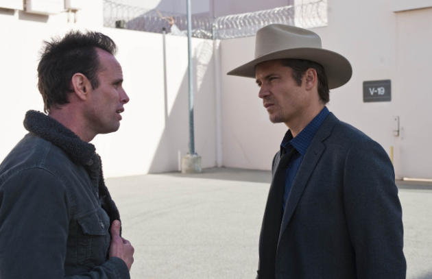 Boyd and Raylan Talk