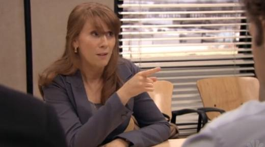 Catherine Tate on The Office