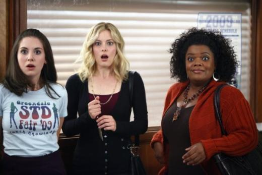 Britta and Shirley Help Annie