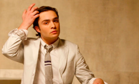 Ed Westwick Poses For K-Swiss Ads