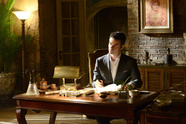 Elijah at His Desk