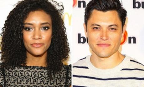 Blair Redford and Annie Ilonzeh to Blast from the Past on Beauty and the Beast