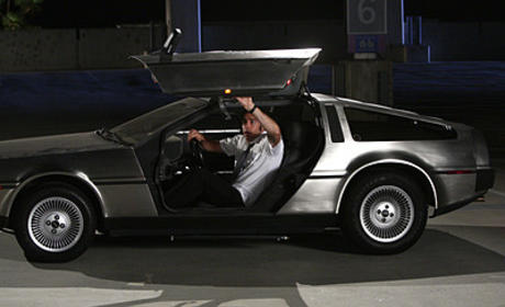 Chuck and the Delorean