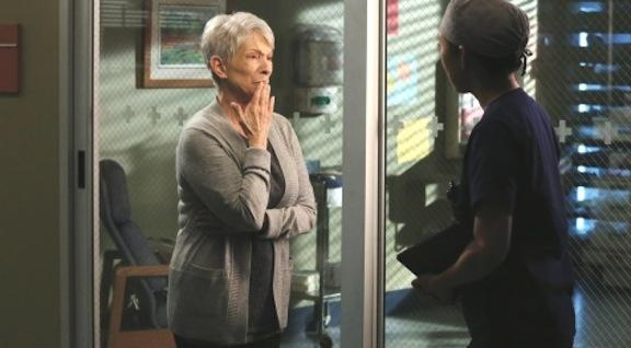 Jennifer Bassey on Grey's Anatomy