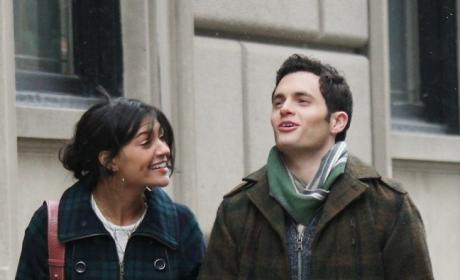 Jessica Szohr, Penn Badgley