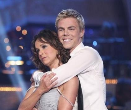 Derek Hough and Jennifer Grey