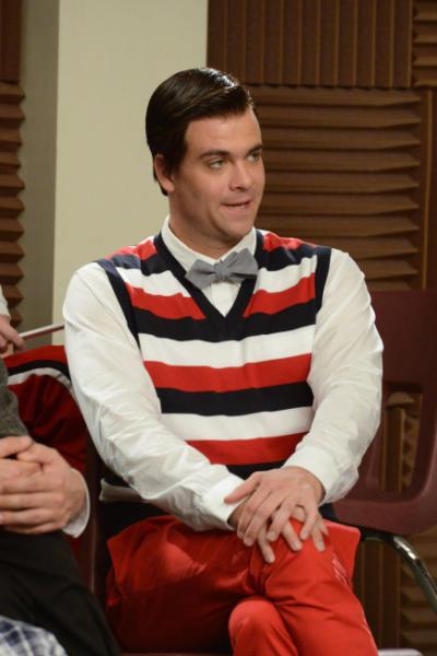 Puck as Blaine