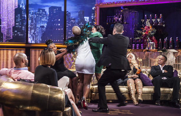 Love & Hip Hop Fight!