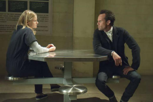 Ava and Boyd Talk In Prison