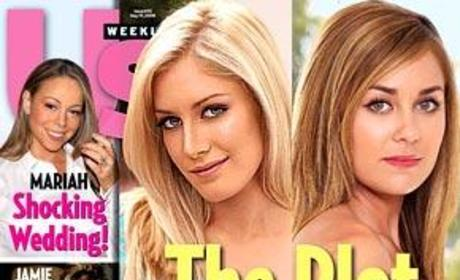 Lauren Conrad and Heidi Montag Pic