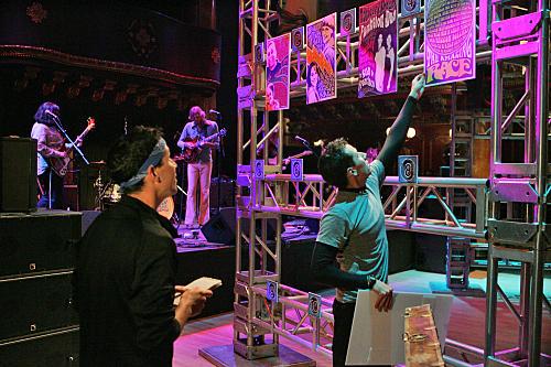 Dan and Jordan Arrange the Photos