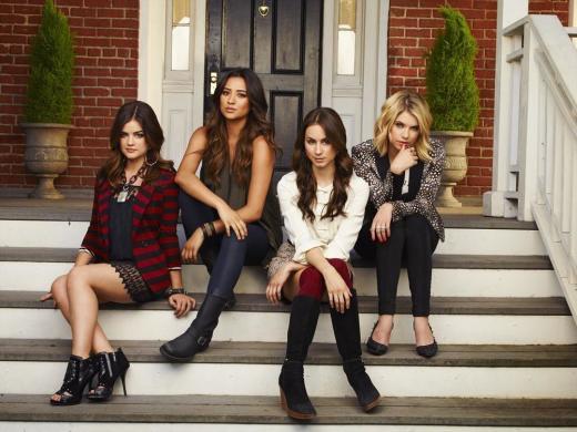 Pretty Little Liars Season 4 Promo Pic