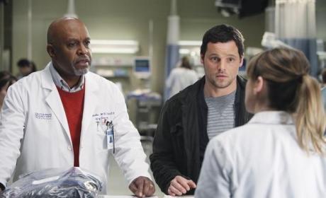 Richard, Alex, Meredith