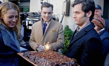 Penn Badgley Gets a Birthday Surprise From Blake