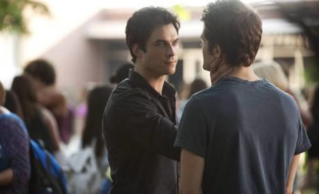 Michael Malarkey to Blast from Damon's Past on The Vampire Diaries