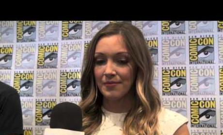 "Katie Cassidy Q&A: On Emotional Arrow Finale, Laurel ""Finding Her Own Way"""
