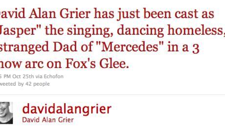 David Alan Grier: Cast on Glee?!?