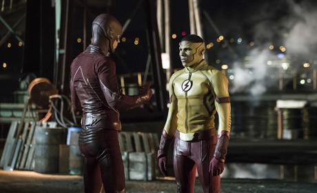 Hey Other Flash - The Flash Season 3 Episode 1