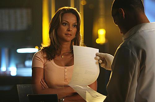 Eva La Rue on CSI