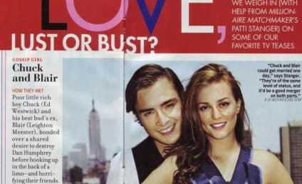 Chuck and Blair in TV Guide!