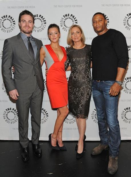 Arrow Cast at PaleyFest
