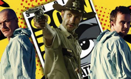 Comic-Con Coverage: Where Will TV Fanatic Be?