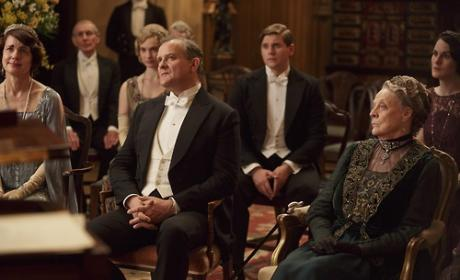 Party on Downton Abbey