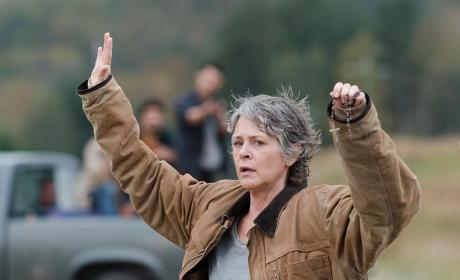 Carol caught - The Walking Dead