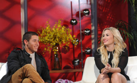 Demi and Nick Jonas