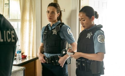 Chicago PD: Marina Squerciati Talks Burgess's Sense For Trouble