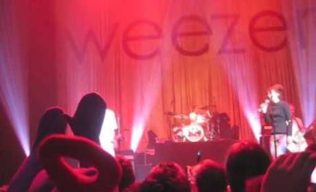 Leighton Meester and Weezer
