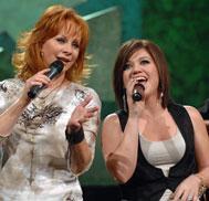 Kelly Clarkson, Reba McEntire